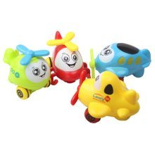 Set Of 2 Baby/Child Wind-Up Toy, Aircraft(Color Random)