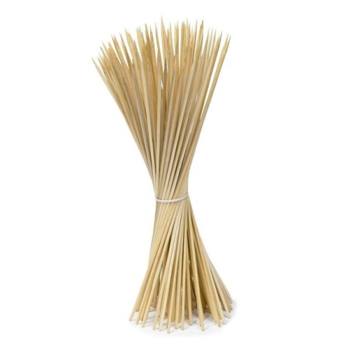 12 in. Imusa Bamboo Skewers, Brown