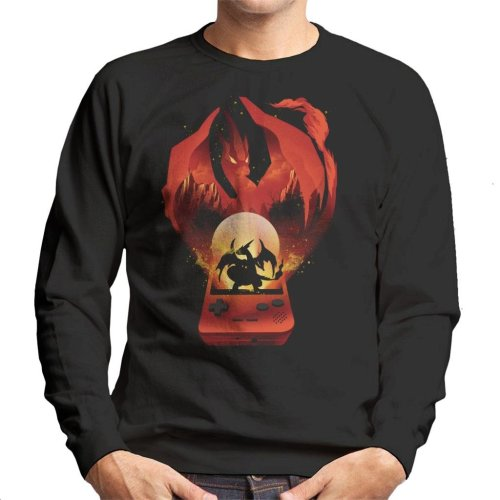 Pokemon Red Montage Men's Sweatshirt