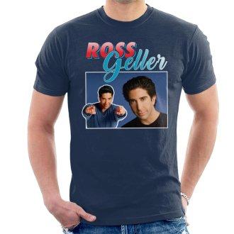 Ross Geller Tribute Montage Men's T-Shirt