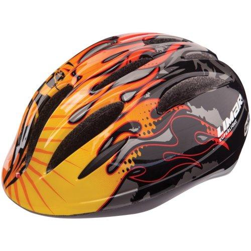 Limar Ac242 Kids Helmet with Light - Dragon Flame, Small 46-51 cm