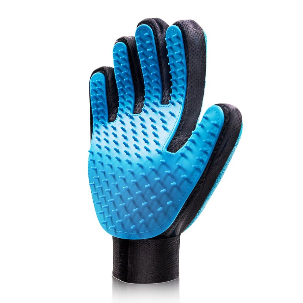 Awesome Raffaelo Pet Grooming Glove 2 In 1 Dog Hair Remover Mitt Dog Deshedding Brush For Long And Short Fur Dogs Cats And Pets Download Free Architecture Designs Scobabritishbridgeorg