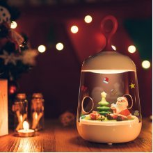 Creative Christmas Micro Landscape Night Light