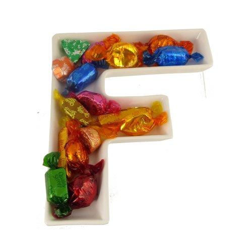 F Alphabet Dish