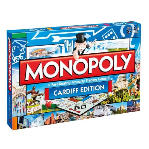 Cardiff Monopoly Game
