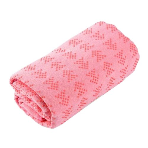 [M] Non-Slip Yoga Towel Sweat Absorbent Yoga Mat Towel Yoga Blanket