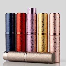 10ML Mini Portable Embossed Travel Perfume Atomizer
