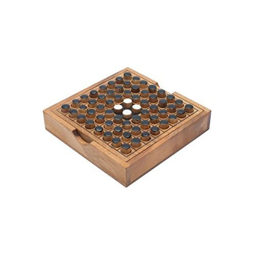 SiamMandalay®: Mini Travel Go Game Classic Traditional Games from SiamMandalay - Wooden Flip It