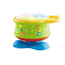 Musical Electric Baby Toys Hand Drum Instrument Percussion Set for Children, Rotating drums@Stick