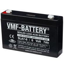 VMF AGM Battery Standby and Cyclic 6 V 7 Ah SLA7-6