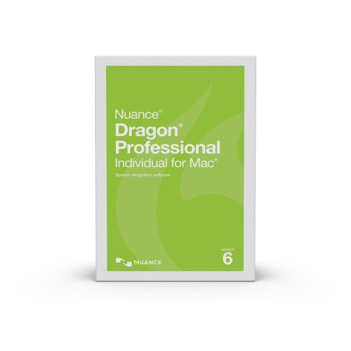 Nuance Dragon Professional Individual for Mac 6 Upgrade 1user(s)