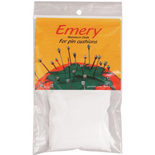 White Emery For Pincushions-4oz