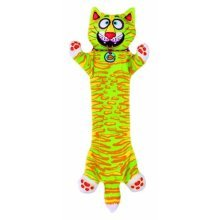 Bamboo Pet DAM660344 Fat Cat Strapping Flip-Flop Yankers Pet Toy,Assorted colors