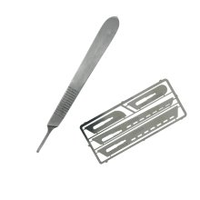 Modelcraft Saw Set #1 With Scalpel Handle #3 - Saw Set #1 W Scalpel Handle #3 Modelcraft Modelling Arts Crafts Hobby Diy Tools
