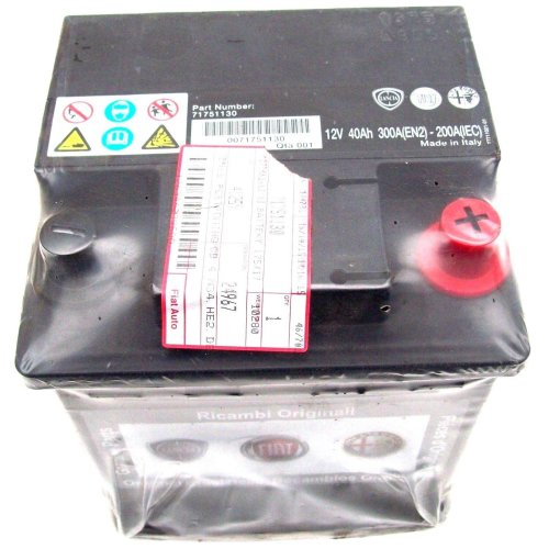 Fiat Brava Bravo Punto Doblo Tipo Genuine New 12V Battery 40Ah 300A 71751130