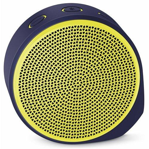 Logitech X100 Mobile Portable Bluetooth Wireless Speaker - Yellow