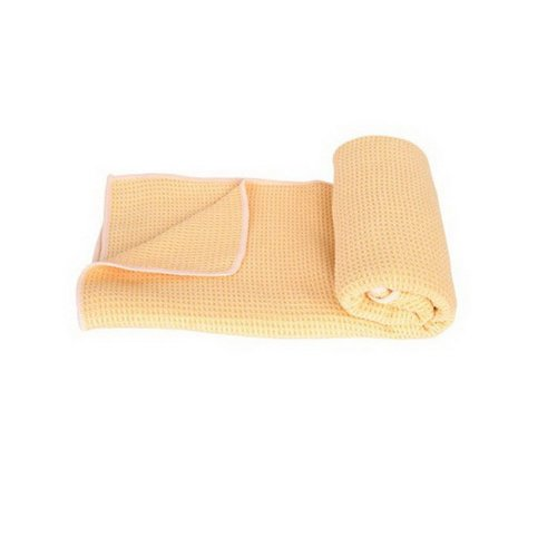 Yoga Mat Towel 183*61 CM Daffodil Yoga Towel with Mesh Bag