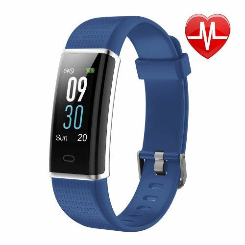 Letscom Fitness Tracker, Heart Rate Monitor Watch with Color Screen, IP68 Waterproof, Step Counter, Calorie Counter, Sleep Monitor, Pedometer,...