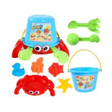 Summer Fun 8 Pieces Beach Sand Kid's Toy Beach Tool Playse (Colors May  Vary) A