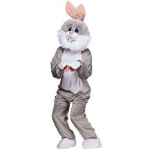 Grey Easter Bunny Rabbit Mascot Costume