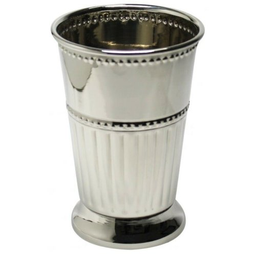 Polished Stainless Steel Julep Cup 13oz Silver Goblet