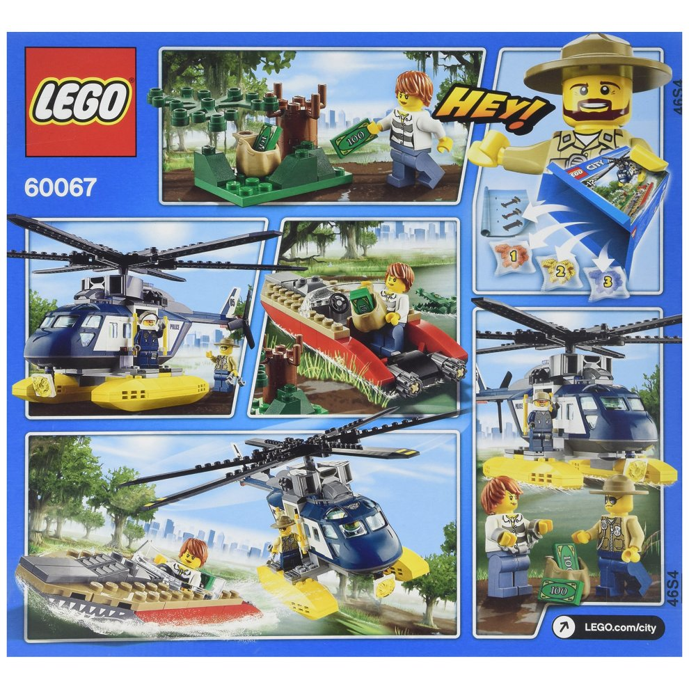 Lego City Police 60067 Helicopter Pursuit On Onbuy