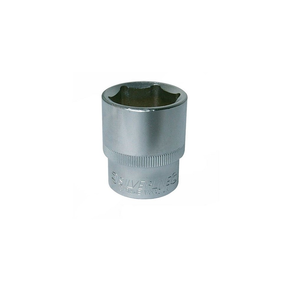 1//2-inch Drive Metric Hex Socket Silverline 726041 10 mm
