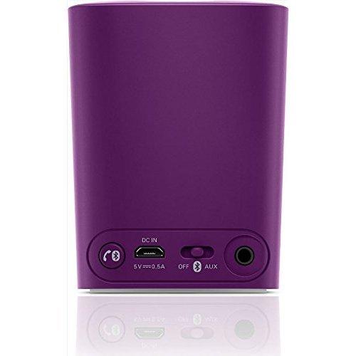 Philips BT100V27 Wireless Mini Portable Bluetooth Speaker Violet