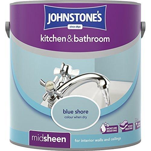Johnstone's 2.5l Kitchen & Bathroom Emulsion Paint