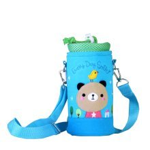 Insulated Baby/Kids Bottle Tote Bag Portable Fashion Feeding Bottle Bag Bear