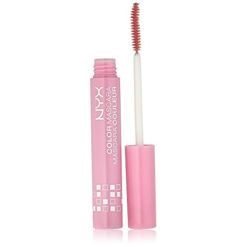 NYX Professional Makeup Color Mascara, CM08 Pink Perfect, 0.32 Fluid Ounce