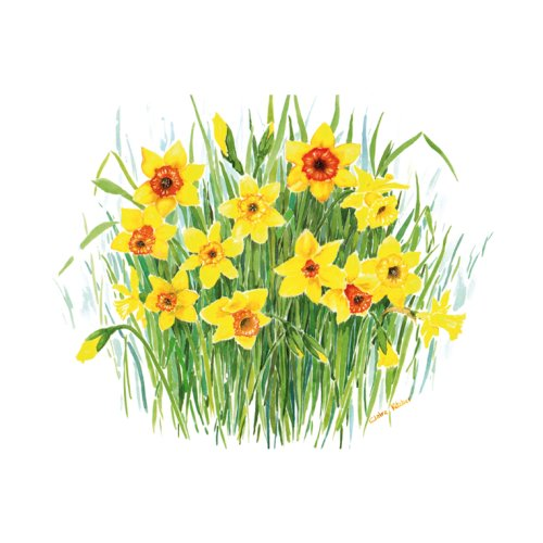 Tuftop Medium Textured Worktop Saver, Daffodil 40 x 30cm