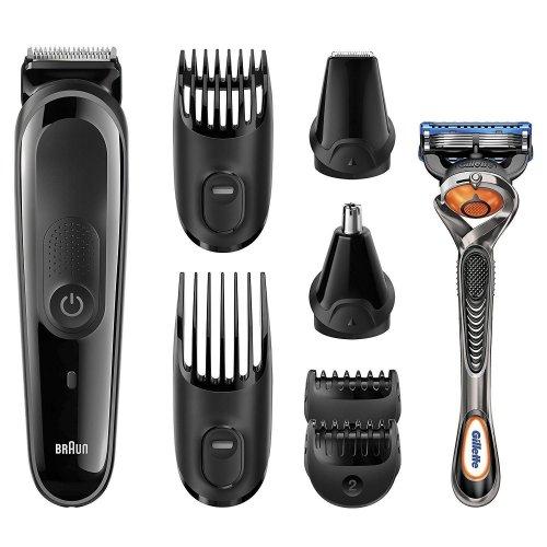 Braun Gillette Multi Grooming Shaver Kit 8-in-1 Mens Beard Hair Trimming MGK3060