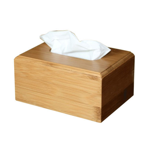 Simple Design Bamboo Toilet Paper Tissue Paper Holder/Tissue Box (16*12*8cm)