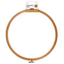 "10"" Wooden Embroidery Hoop - 10 Inch Cross Stitch Sewing Accessories -  10 wooden embroidery hoop inch cross stitch sewing accessories"