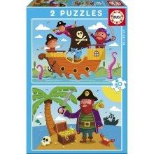 2 Jigsaw Puzzles - Pirates