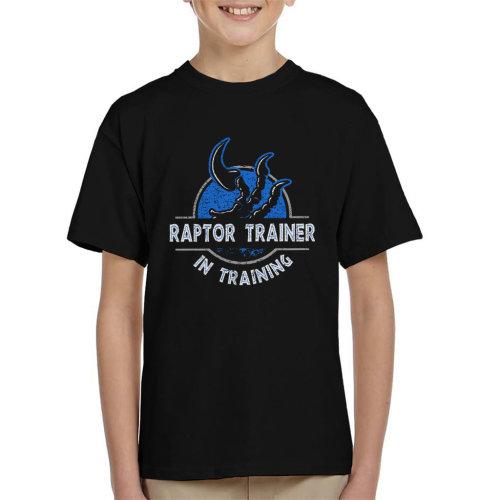 Raptor Trainer In Training Jurassic World Kid's T-Shirt