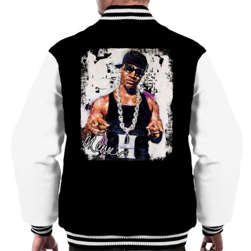 1a2f1d0d5205 Sidney Maurer Original Portrait Of Young Jeezy Hustle Chain Men s Varsity  Jacket on OnBuy