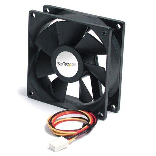 StarTech.com 90x25mm High Air Flow Dual Ball Bearing Computer Case Fan w/ TX3