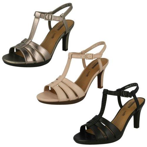 Ladies Clarks Slingback Sandals Adriel Tevis - D Fit