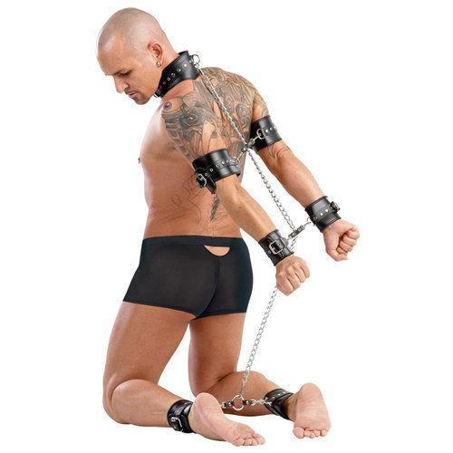 Leather restraint  BDSM Bondage - Zado