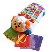 Hammer Percussion Hand Knock Children Music Toy Piano--Sheep