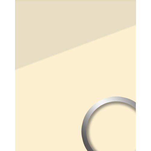 WallFace 17918 UNI MAGNOLIA adhesive wall panel glass look beige cream 2.6 sqm