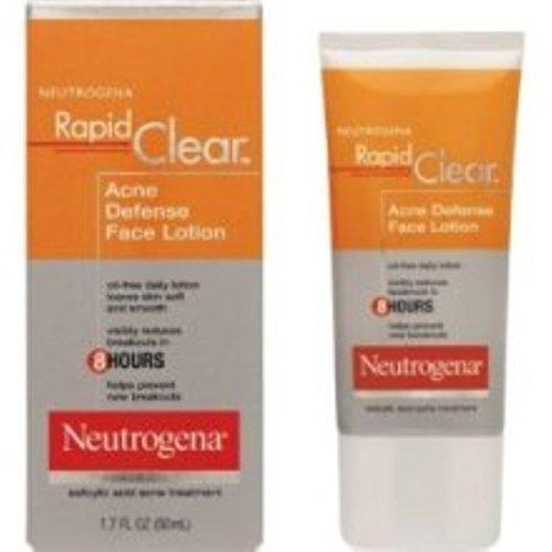 Neutrogena Rapid Clear Acne Defense Face Lotion 1.70 oz