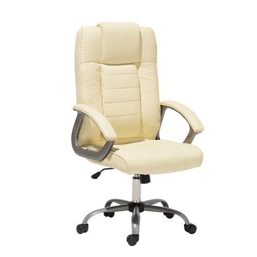 Office Chair - Computer Chair - Swivel - Massage Chair - Beige - COMFORT II
