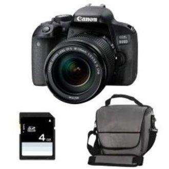 CANON EOS 800D EF-S 18-135mm F3.5-5.6 IS STM + Canon Bag + 8gb SD card