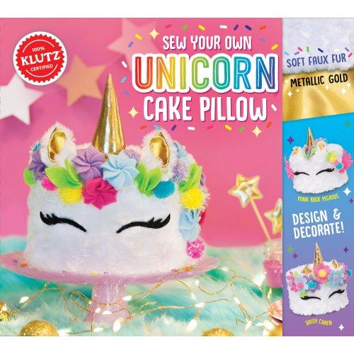 Sew Your Own Unicorn Cake Pillow-