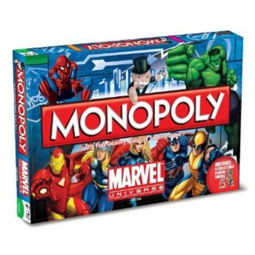 Winning Moves Marvel Monopoly Board Game