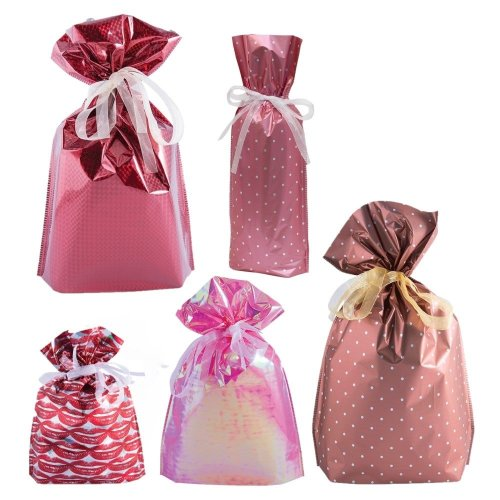 GiftMate 30-Piece Gift Bag Set | Reusable Present Bag Set