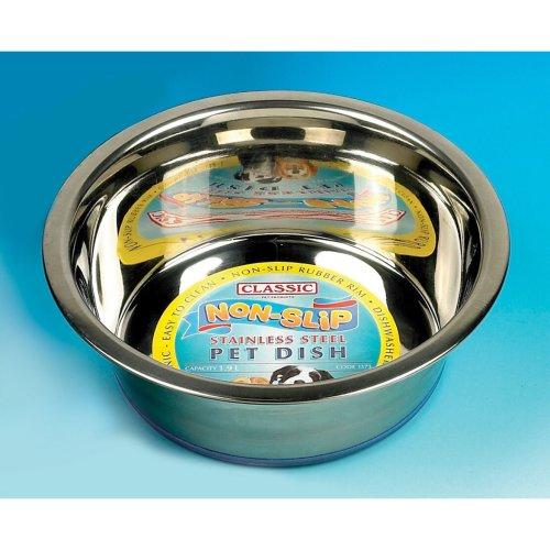 Classic Super Prem S/steel Non Slip Dish 4000ml (280mmdia) (Pack of 6)
